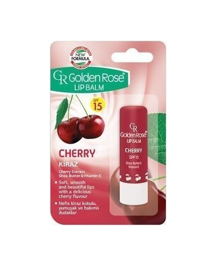 Golden Rose Lip Balm Cherry SPF15
