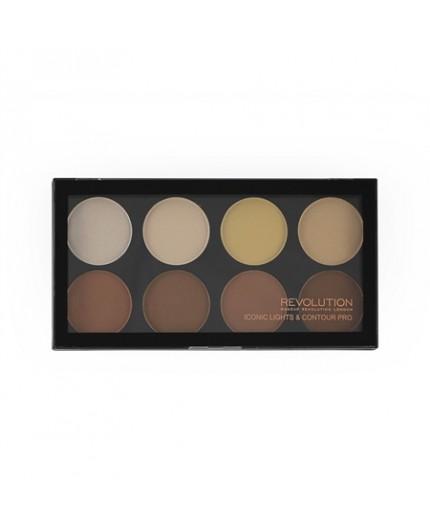 Makeup Revolution - Iconic Lights and Contour Pro Palette