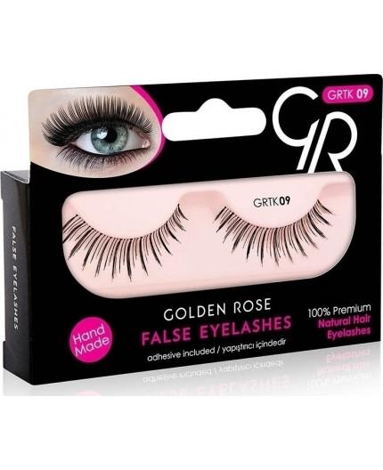 Golden Rose False Eyelashes 09