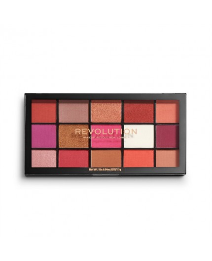 Make Up Revolution Reloaded Palette Red Alert