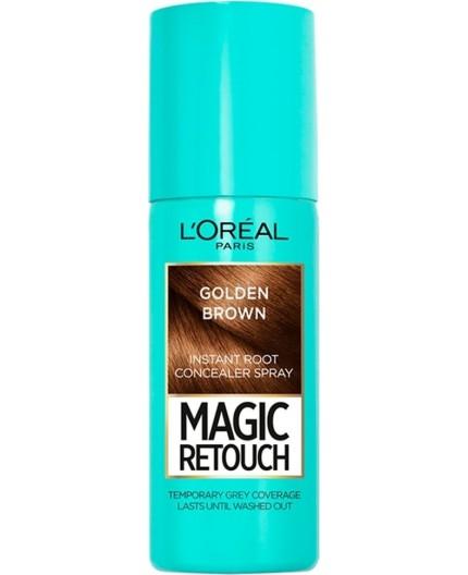 L'Oreal Magic Retouch Golden Brown 75ml