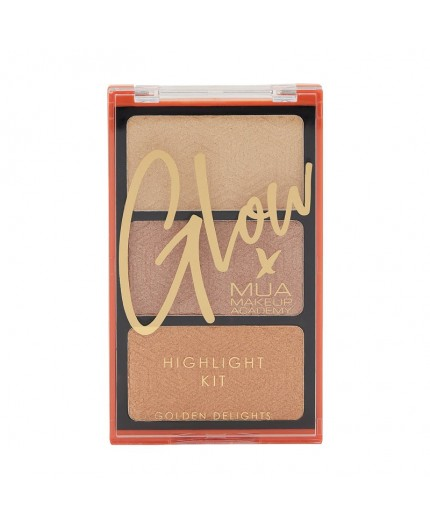 MUA GLOW X HIGHLIGHT KIT - GOLDEN KISSES