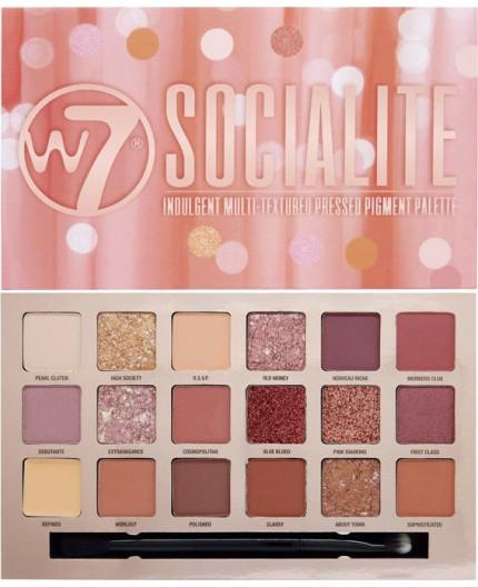 W7 Cosmetics Socialite Eyeshadow Palette 17gr