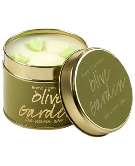 Bomb Cosmetics Olive Garden Tinned Candle
