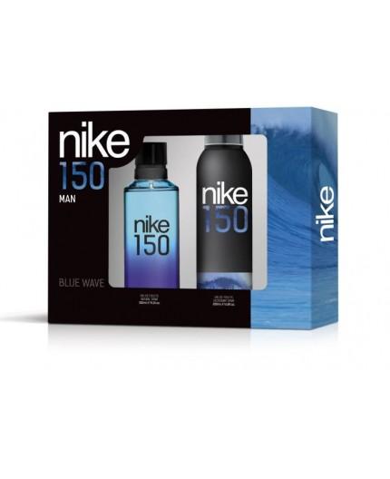 Nike Blue Wave Man Eau De Toilette Spray 150ml + Deodorant Spray 200ml