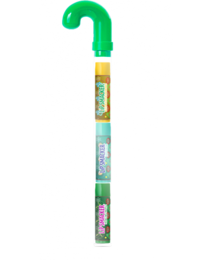 Lip Smacker Holiday Candy Cane Trio - Green