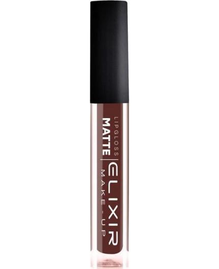 Elixir Make-Up Liquid Lip Matte 419 Chocolate Kiss
