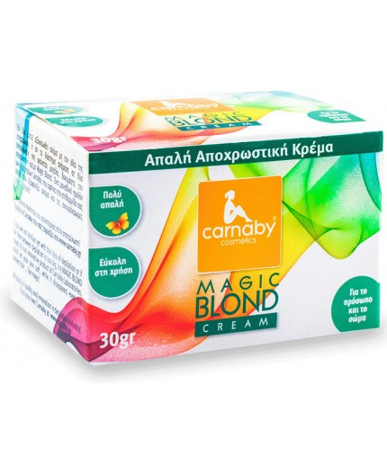 Carnaby Magic Blond Cream Απαλή Αποχρωστική Κρέμα 30gr