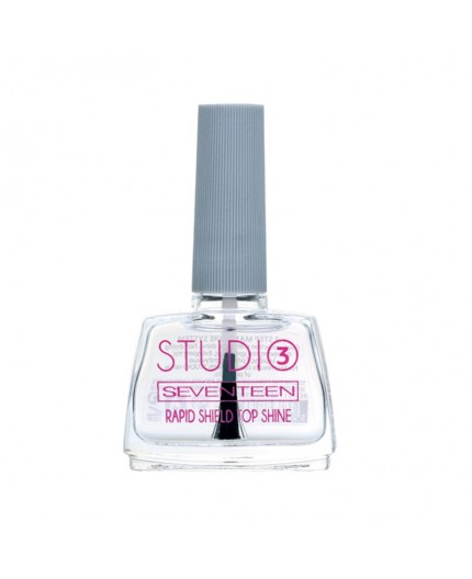 Seventeen Studio Rapid Shield Top Shine 12ml Step 3