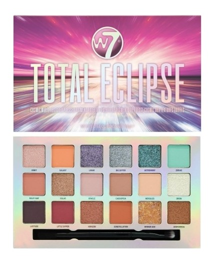 W7 Cosmetics Total Eclipse Pressed Pigment Eye Palette