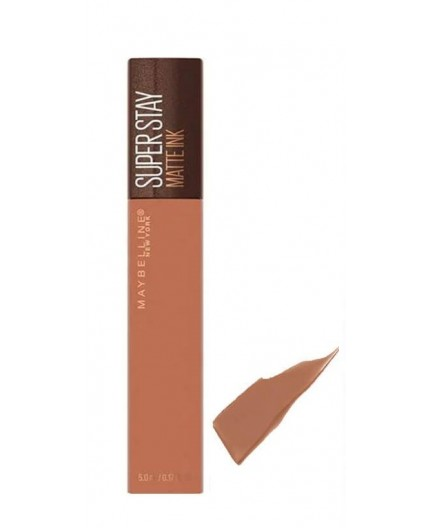 Maybelline Super Stay Matte Ink Coffee Edition 255 Chai Genius 5ml