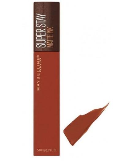 Maybelline Super Stay Matte Ink Coffee Edition 255 Chai Genius