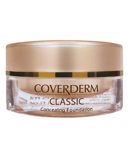 Coverderm Classic Concealing Foundation SPF30 3Α 15ml