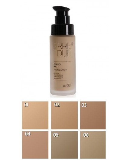 Erre Due Perfect Mat Foundation 02 Silent Dune 30ml