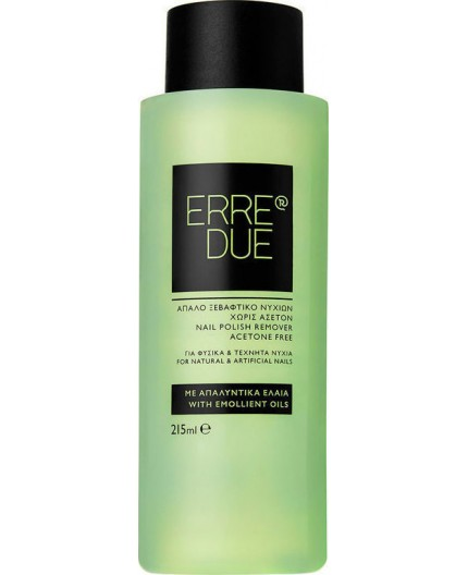 Erre Due Nail Polish Remover Aceton-free 215ml