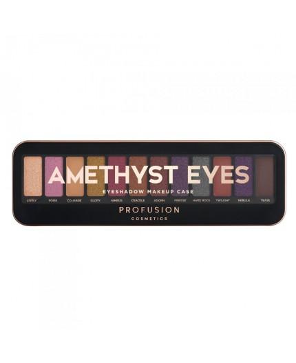 Profusion Cosmetics Eyeshadow Case Amethyst Eyes