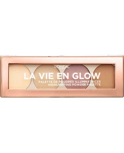 L'Oreal La Vie En Glow Highlighting Palette 5gr