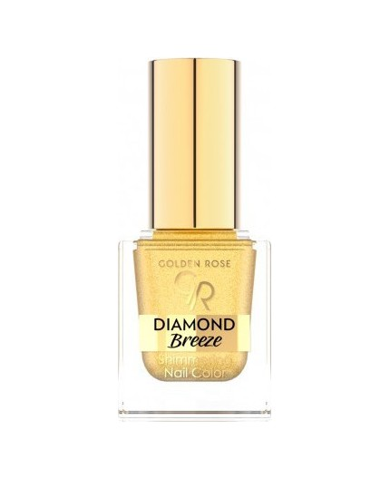 Golden Rose Diamond Breeze Shimmering Nail Color 01 24K Gold